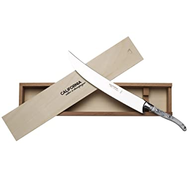California Champagne Saber Company Sabrage Sword Edition Rutherford (Marble White)