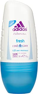 adidas Fresh Cool & Care 48h Anti-Perspirant Roll On for Women, 50 ml