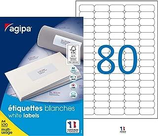 APLI-AGIPA 41690 /Étiquette Adh/ésive Bureau 9x13mm Pochette Assorties