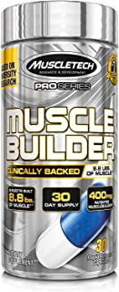 Muscle Builder | MuscleTech Muscle Builder | Muscle Building Supplements for Men & Women | Nitric Oxide Booster | Muscle G...