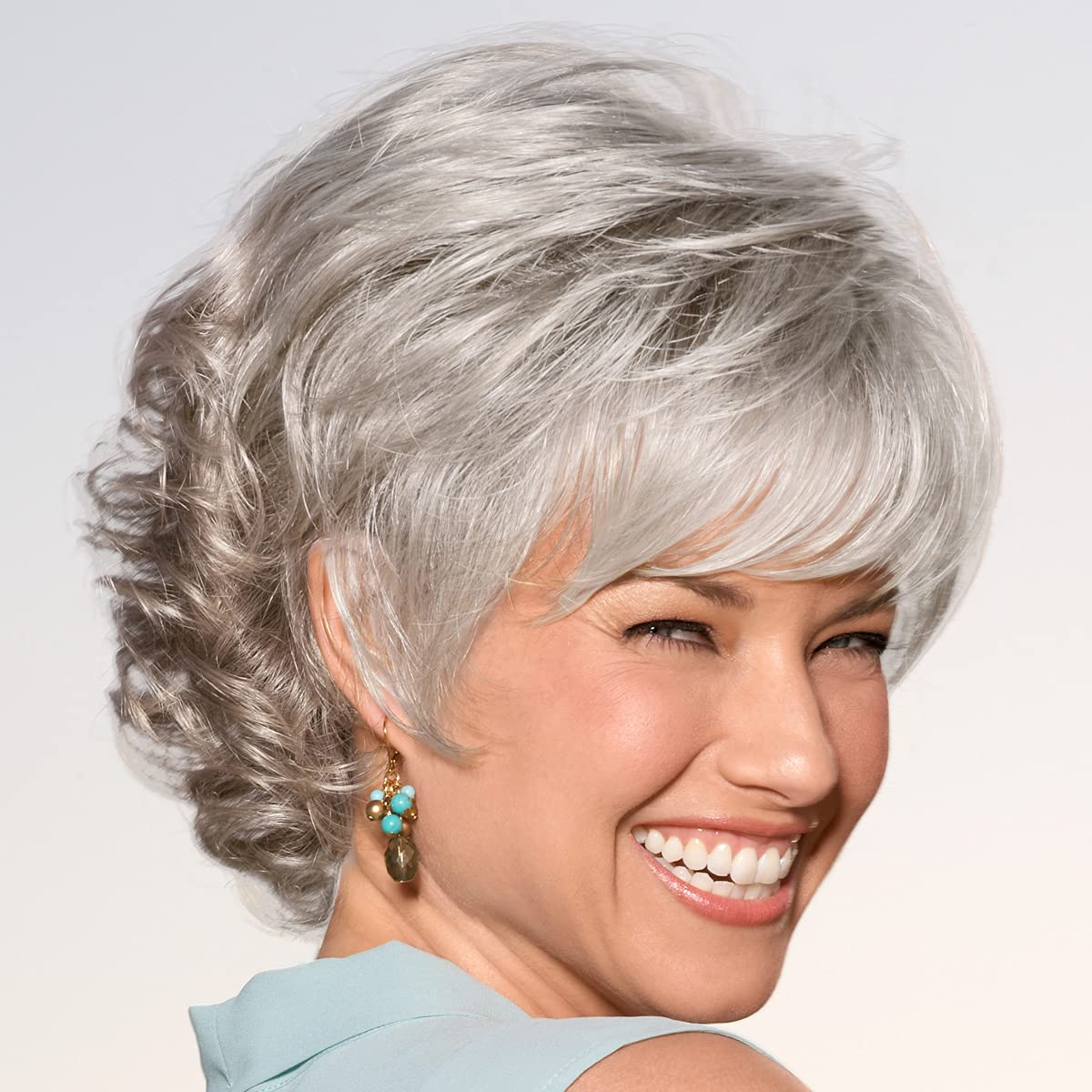 Alex Popular product WhisperLite Wig by Paula Young with Time sale - Side- Sassy Short