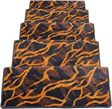 JIAJUAN Stair Carpet Treads Non-Slip Indoor Self Adhesive Treads Large Rugs Mats, 14 Mm, 6 Styles, 5 Sizes (Color : D-1 pc...