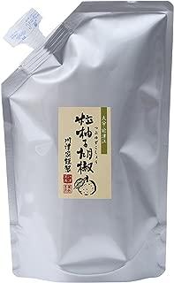 川津食品 川津家謹製 粒柚子胡椒 青 500g