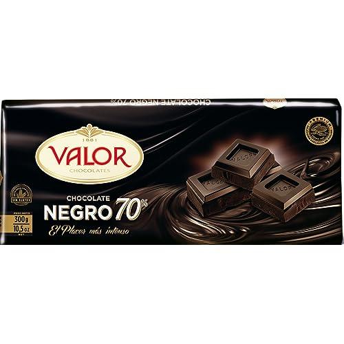 Valor Chocolate Negro de 70% Cacao - 300 g