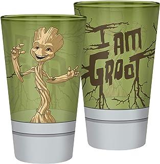 Guardians Of The Galaxy I Am Groot Drinkglas standaard glas 0,4 l Fan merch, Film, Marvel