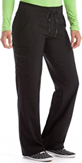 Med Couture Scrub Pants Women, Yoga Cargo Pocket Scrub Pant