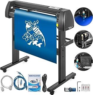 VEVOR Vinyl Cutter 28 Inch Plotter Machine 720mm Paper Feed Vinyl Cutter Plotter Signmaster Software Sign Making Machine with Stand (28Inch Style 2)