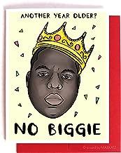 biggie birthday card