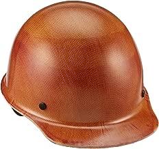MSA 475405 Skullgard Cap Hard Hat, with 4-point Fas-Trac III Suspension, Large, Natural Tan