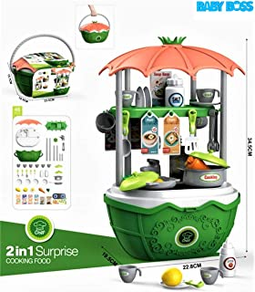 BABY BOSS - 2 IN1 Surprise Cooking Food Playset for Kids 46Pcs