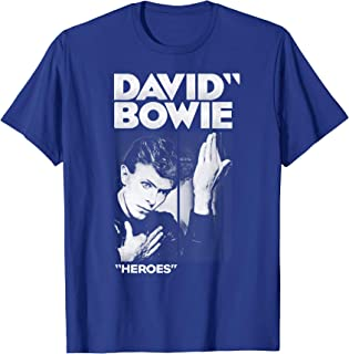 David Bowie - Bold Heroes T-Shirt