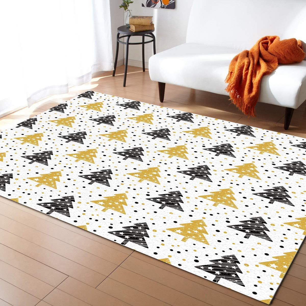 Prime Leader Free shipping / New Modern Contemporary Area Room Winte for 2021new shipping free Rug Living