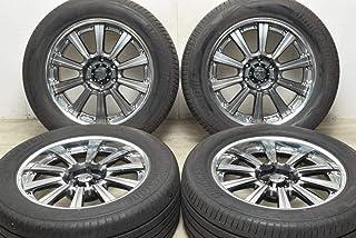 中古 タイヤホイール 4本セット 20インチ 8.5J +14 285/50R20 112V スーパースター 製ホイール