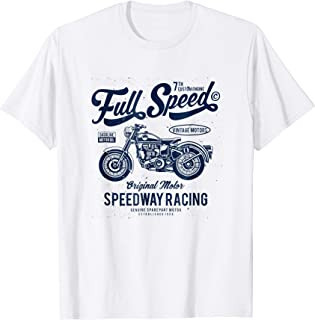 VINTAGE RETRO MOTORCYCLE ADVERTISEMENT NOSTALGIA T-SHIRT