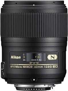 Nikon AF-S Micro NIKKOR 60 mm f/2.8G ED - Objetivo (Distancia Focal Fija 60 mm Apertura f/2.8) Color Negro