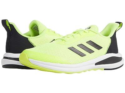 adidas Kids Fortarun (Big Kid) (Solar Yellow/Black/White) Kid