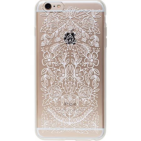 Transparent Floral Lace Slim Cell Phone Cover for iPhone 6 Plus Rifle Paper Co.