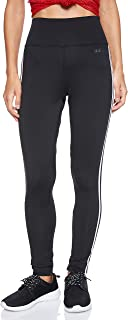 adidas Women's D2M 3-Stripes High-Rise Long Tights