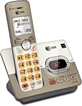 $30 » AT&T EL52113 Single Handset Expandable Cordless Phone with Answering System & Extra-large Backlit Keys (Renewed)