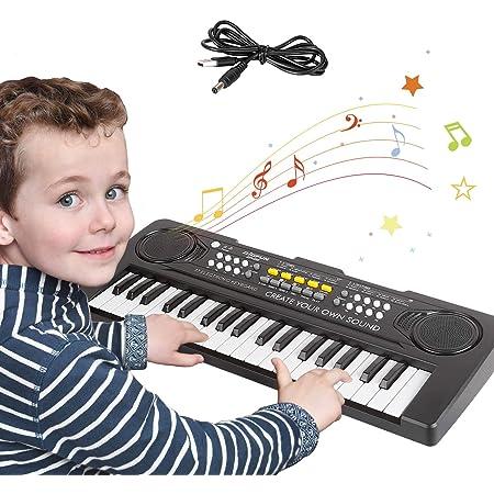 sanlinkee Teclado Piano Niños, 37 Teclas Electrónico Música ...