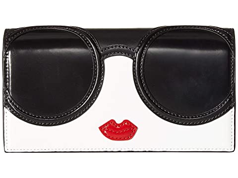 Alice + Olivia Lisa Stacey Face Flap Long Wallet
