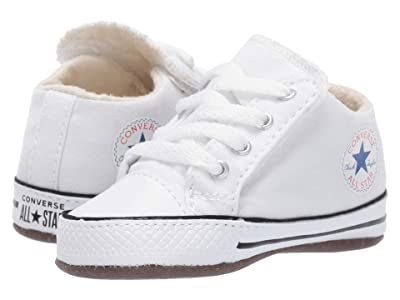 Converse Kids Chuck Taylor All-Star Cribster Gravity Graphic Mid (Infant/Toddler) (White/Natural Ivory/White) Kids Shoes
