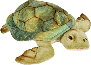 Wildlife Tree 12 Inch Stuffed Sea Turtle Plush Floppy Animal Kingdom Collection