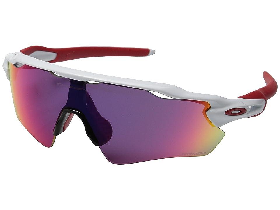 Oakley Radar EV (Polished White w/Prizm Road) Sport Sunglasses