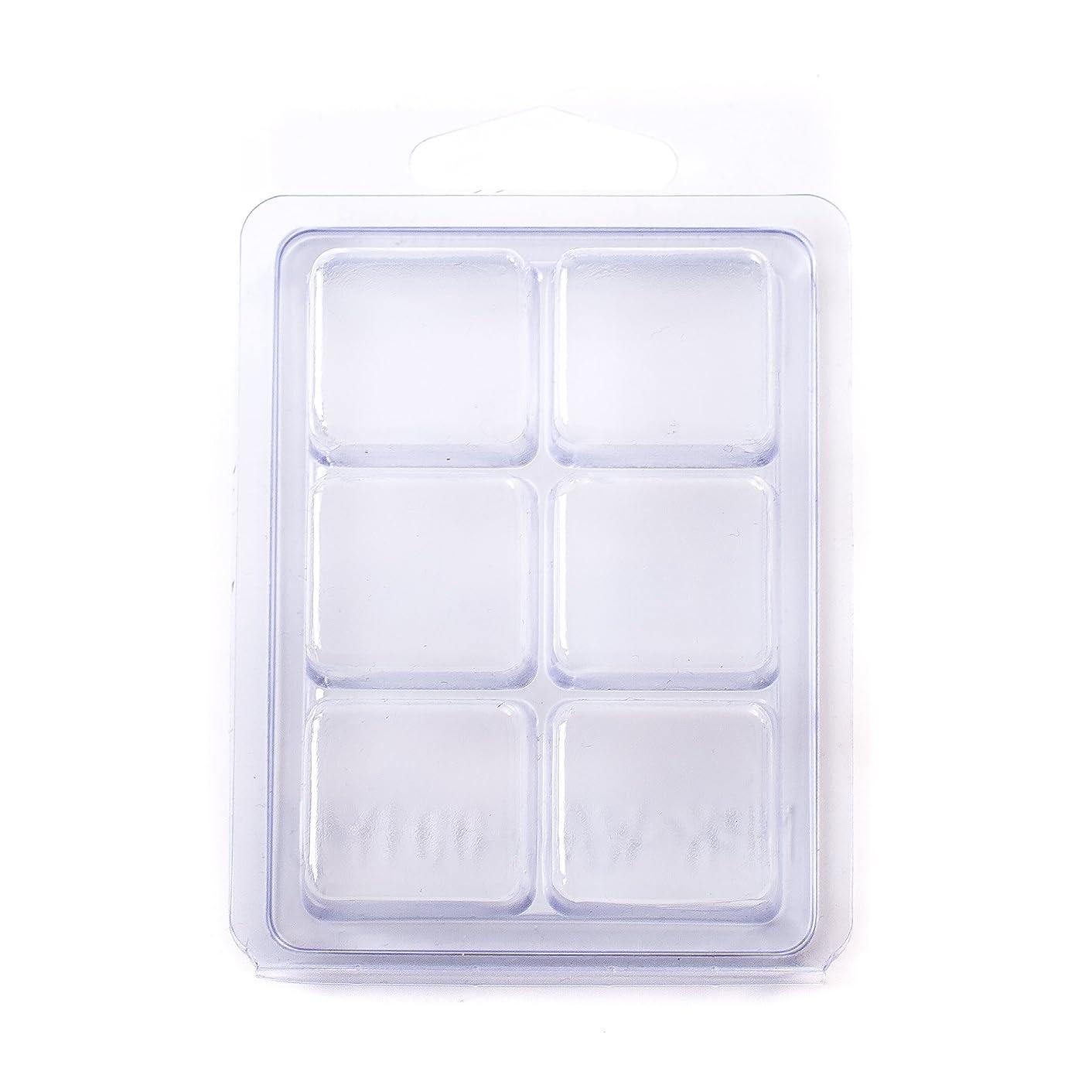 6 Cavity Wax Tart Clamshell Mould x 10