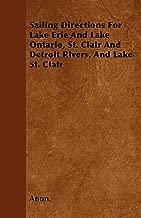 والمراكب الشراعية إرشادات Lake Erie بحيرة أونتاريو ، القديس كلير Detroit والأنهار ، بحيرة St. كلير