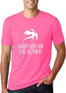 Mother of Dragons | GoT Daenerys Targaryen | Mens Pop Culture Tee Graphic T-Shirt