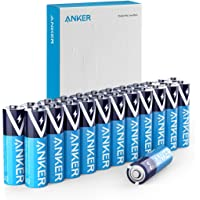 24-Count Anker Long-Lasting & Leak-Proof PowerLock Technology Alkaline AA Batteries