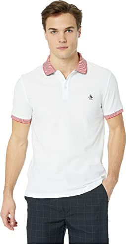 Short Sleeve Stars and Stripe Polo