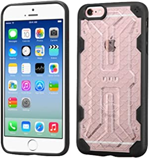 MyBat Cell Phone Case for Apple iPhone 6s/6 - Retail Packaging - Clear/Black