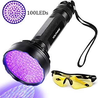 Brandson LED UV Schwarzlicht Taschenlampe UV-Schwarzlicht Taschenlampe Ult