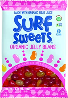 Surf Sweets Organic Jelly Beans , 2.75 oz Each / Pack of 2