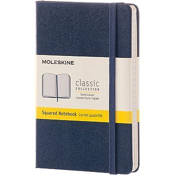 モレスキン ノート クラシック ノートブック ハードカバー 方眼 ポケットサイズ サファイアブルー MM712B20