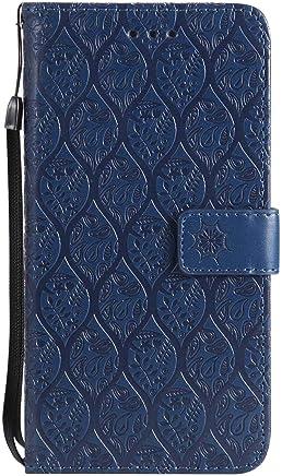 f9ab499811a DENDICO Cover iPhone 7 Plus, Cover iPhone 8 Plus, Flip Libro Portafoglio  Custodia in Pelle per.