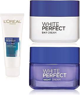 L'Oreal Paris White Perfect Day Cream SPF 17 PA++, 50ml And L'Oreal Paris White Perfect Milky Foam Facewash, 100ml And L'Oreal Paris White Perfect Night Cream, 50ml