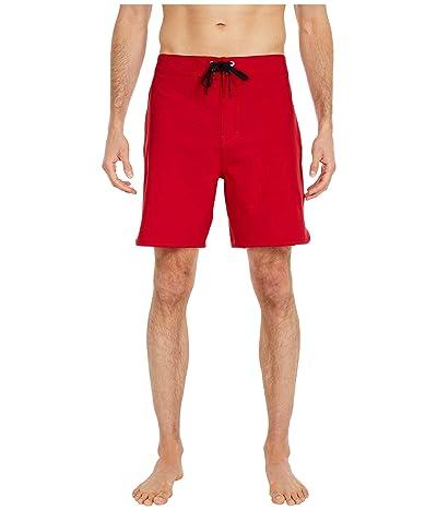 Hurley 18 Phantom One Only Boardshorts (Gym Red) Men