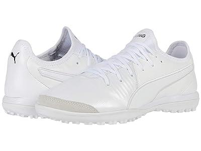 PUMA King Pro TT (Puma White/Puma White/Puma White) Shoes