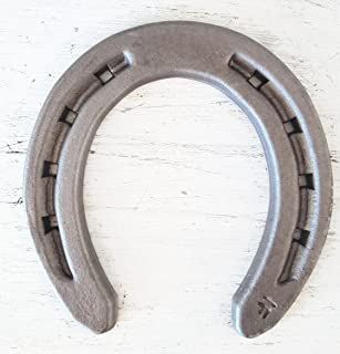 New Steel Horseshoes - Size 000- R1-F - Sand Blasted Steel -The Heritage Forge Size 000 - 40