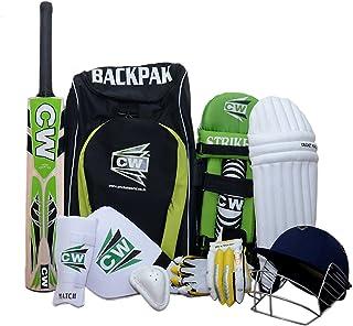 CW Bullet Complete Cricket Set Full Size for Adult Batsman with Backpack Kit