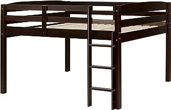 Concord Junior Loft Bed, Full, Cappuccino