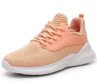 Akk Womens Athletic Walking Shoes - Slip On Memory Foam...