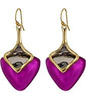 Alexis Bittar - Two-Tone Sculptural Drop Earrings
