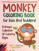 coloring book pictures of monkeys