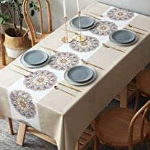 Tablecloth Waterproof Oil-proof Anti-scalding Disposable Tablecloth Rectangular Tablecloth Coffee Table Cloth Mat 135 * 220cm
