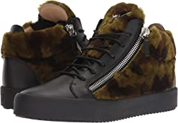 May London Patterned Shearling Sneaker