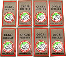 Organ Needle - Organ-HAX1 Sewing Needles fit for Singer, Pfaff, JANOME, RICCAR, NECCHI,Brother + (Organ-HAX1 12/80 14/90 16/100 18/110 80PCS)